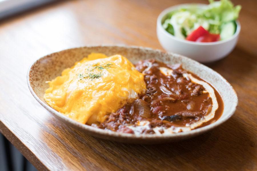 ◆特製ハヤシライス~とろとろ玉子~(サラダ・スープ付)(9月〜6月)